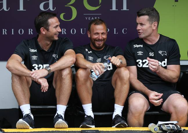 PA: Shay Given and Frank Lampard