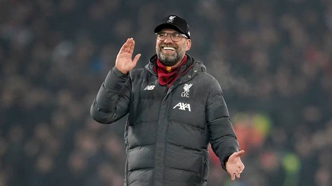 Will Klopp and Liverpool get to celebrate winning the title on the pitch? Image: PA Images