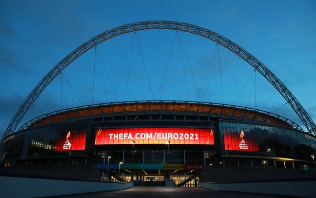 Wembley will host some matches at the Euros but will fans be back? Image: PA Images