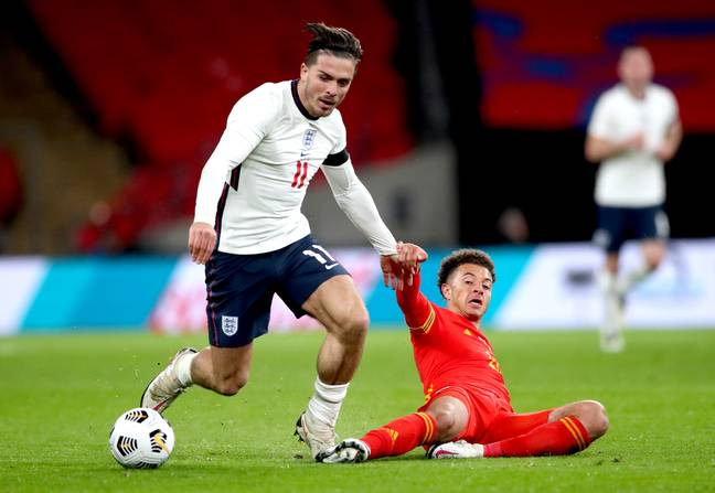 Grealish impressed on full debut against Wales. Image: PA Images