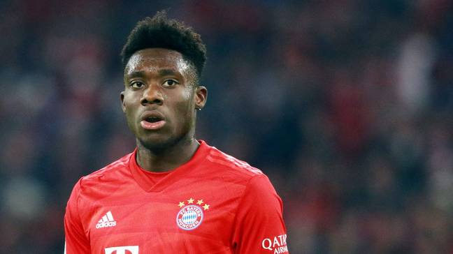 Since joining Bayern Munich in January 2019, Alphonso Davies has established himself at left-back (Image: PA)