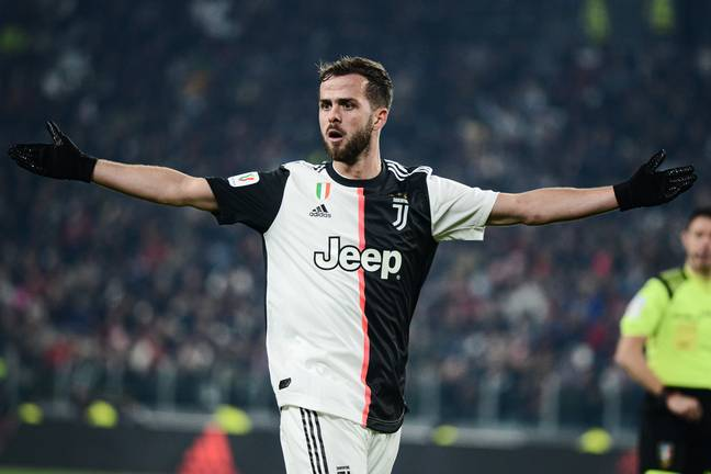 Pjanic could soon be on his way to Spain. Image: PA Images