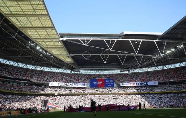 Wembley Stadium. Image: PA