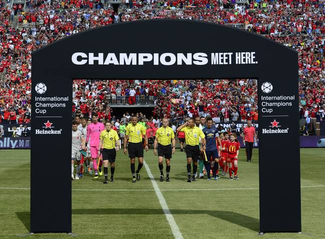 Full stadiums in the U.S for the International Champions Cup pre season tournament has proved the worldwide appeal of Europe's biggest names. Image: PA Images
