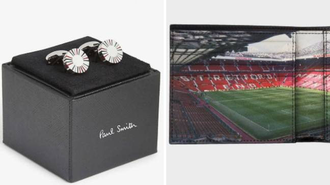 Two other products released which are a set of cufflinks and a wallet. (Image Credit: Paul Smith)