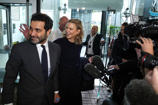 PA: Amanda Staveley and Mehrdad Ghodoussi