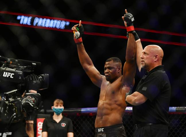 Ngannou has been in dangerous form. Image: PA Images