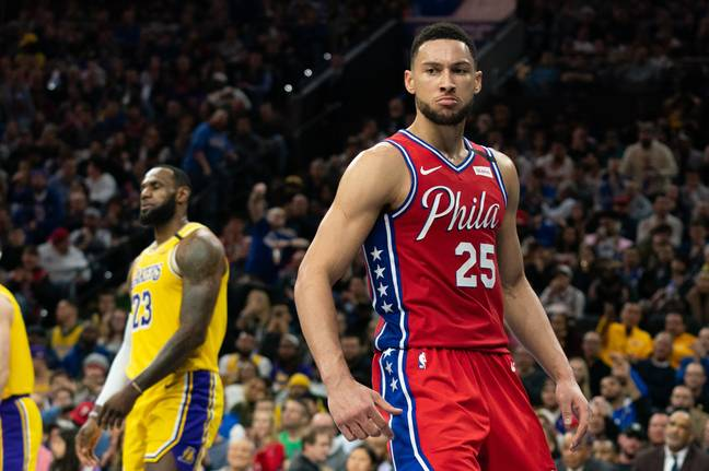 Simmons has been playing power forward during team practices