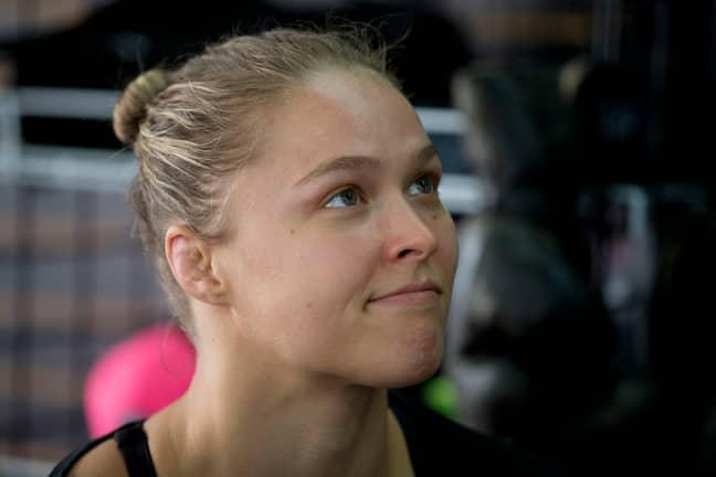 Ronda Rousey. Credit: PA
