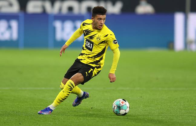 United wanted Sancho in the summer. Image: PA Images
