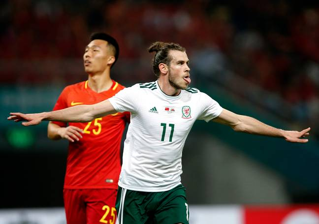 Bale is loved in China, even after scoring a hat-trick against their national team last week. Image: PA Images