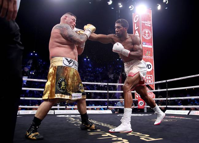 Joshua hasn't fought since winning his titles back from Andy Ruiz last December. Image: PA Images