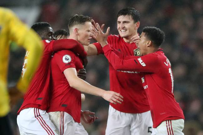 Scott McTominay scored a rocket against Arsenal last month at Old Trafford