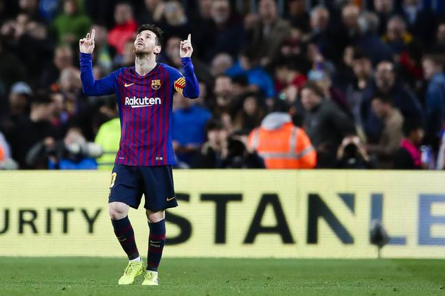 Messi is in ridiculous form. Image: PA Images