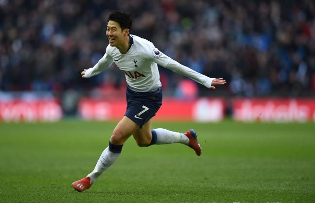 Son scored the winner on Saturday against Newcastle. Image: PA Images