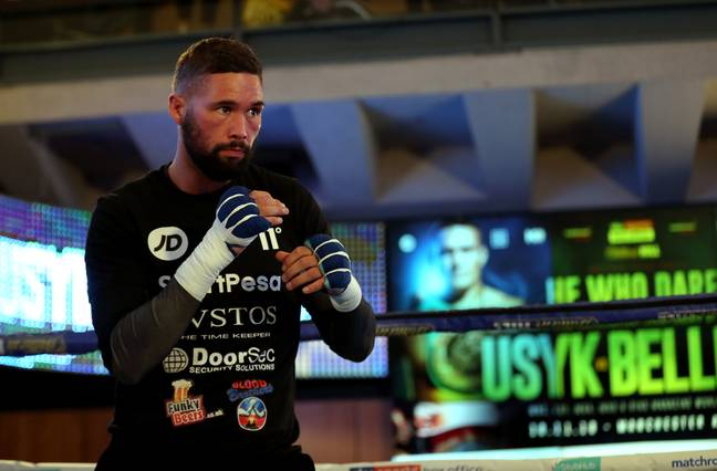 My money is on Bellew. Credit: PA