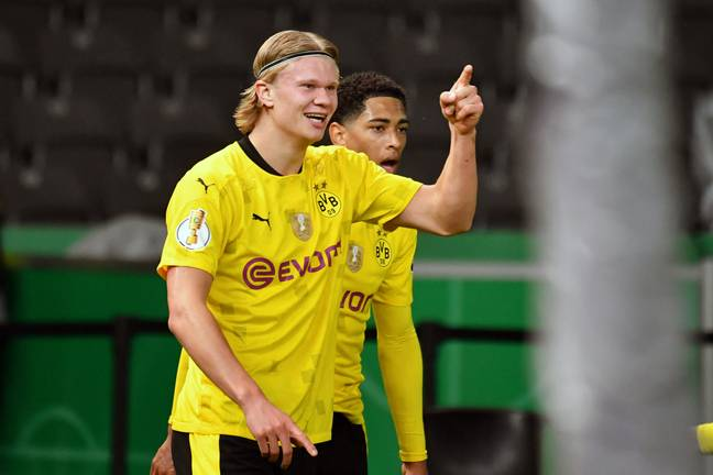 Haaland has enjoyed an excellent first full season in the Bundesliga. Image: PA Images