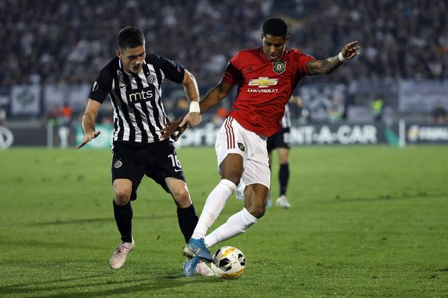 United defeated Partizan in Serbia 1-0 in their last Europa League game. (Image Credit: PA)