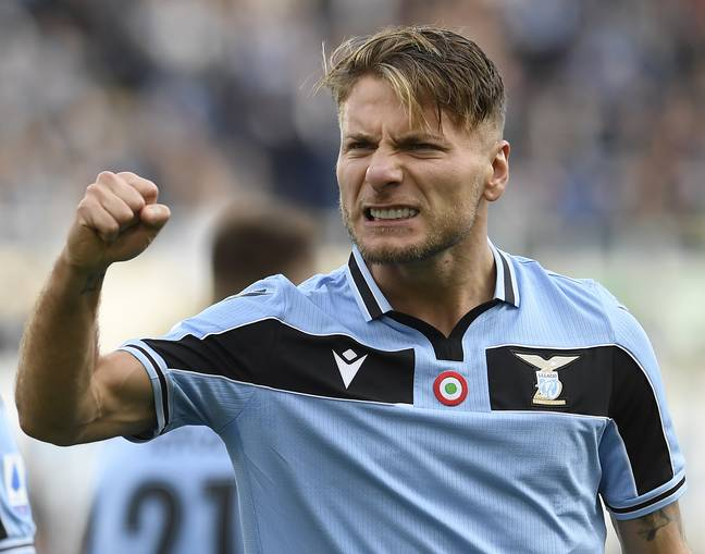 Immobile is Europe's leading marksman in the race for the Golden Shoe. Image: PA Images