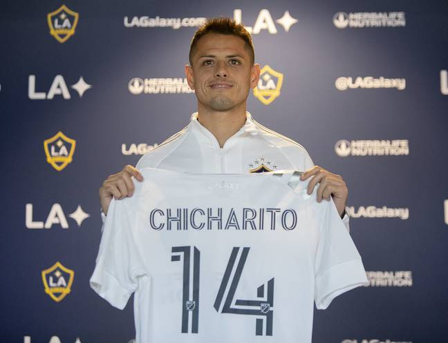 Hernandez has joined LA Galaxy for this season. Image: PA Images