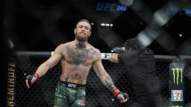 McGregor was dominant in the UFC 246 main event against Donald Cerrone. (Image Credit: PA)