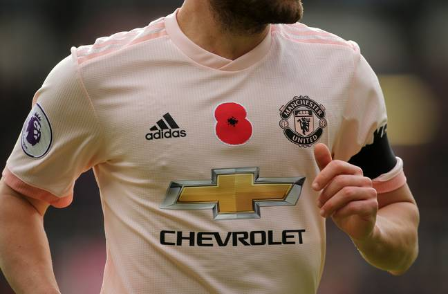 United's kit from Saturday. Image: PA Images