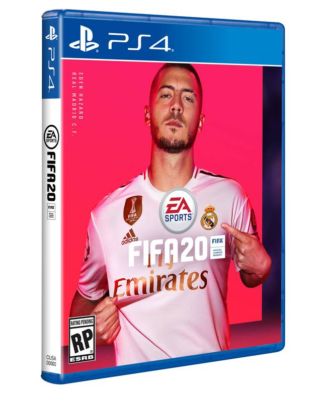New Real Madrid signing Eden Hazard will feature on the standard edition
