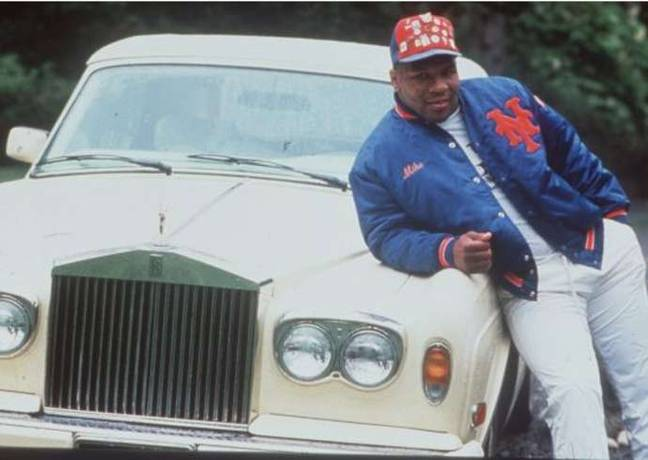 During his prime, Mike Tyson had a massive car collection. Credit: Instagram