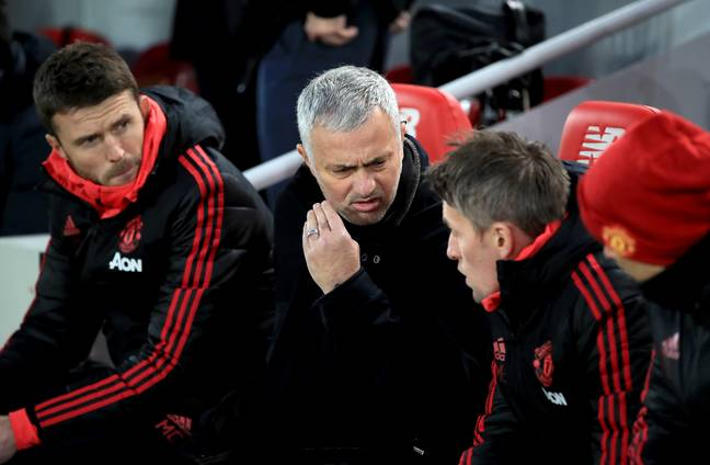 Mourinho trying to work out what he'll do with the money. Image: PA Images
