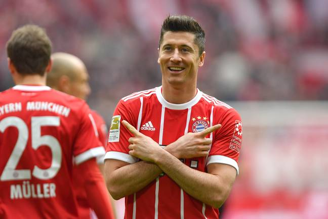 Lewandowski may be the best in the world right now. Image: PA Images