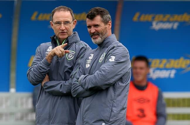Martin O'Neill roy Keane