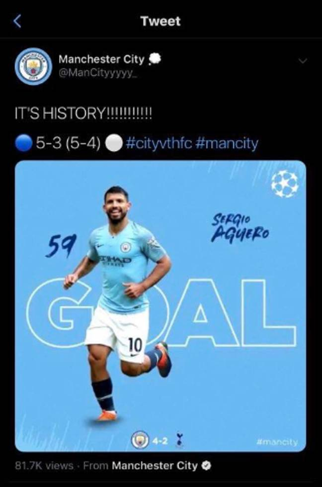 Image: Manchester City/Instagram