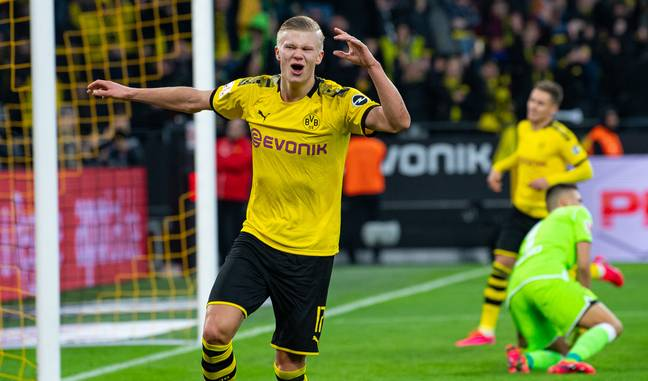 Haaland chose Dortmund over United in January. Image: PA Images