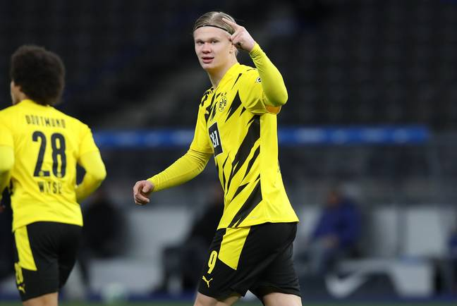 Haaland has been in excellent form again this season. Image: PA Images