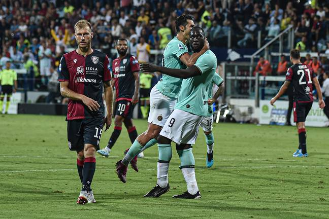 Lukaku was abused by Cagliari fans earlier this year. (Image Credit: PA)