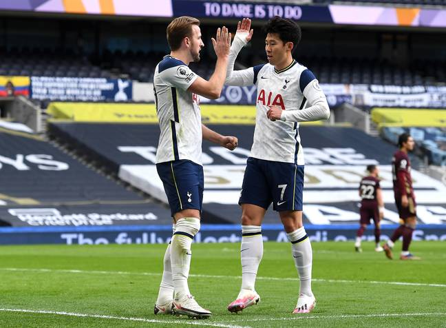 Son and Kane's link up play has been a highlight of the season. Image: PA Images