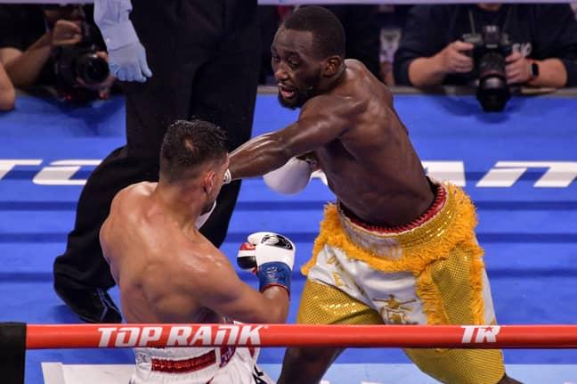 Crawford beat Khan pretty handily. Image: PA Images