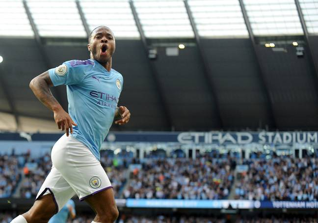 Sterling scored his latest goal against Spurs at the weekend. Image: PA Images