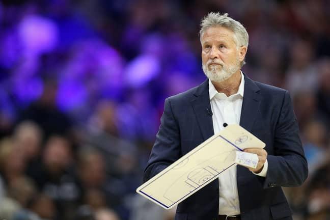 Philadelphia 76ers coach Brett Brown