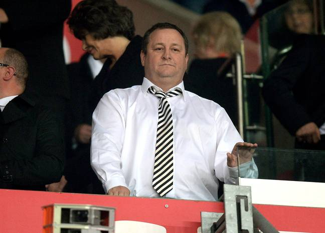 Mike Ashley has not been popular at Newcastle. Image: PA Images