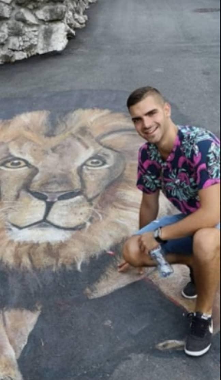 Andrej Pavlović, a 22-year-old from Belgrade, Serbia.