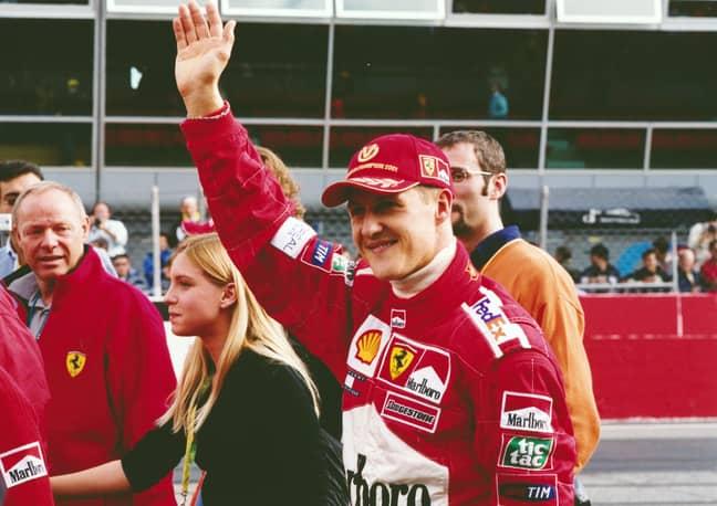 Ferrari great Michael Schumacher pictured in 2001. Credit: PA