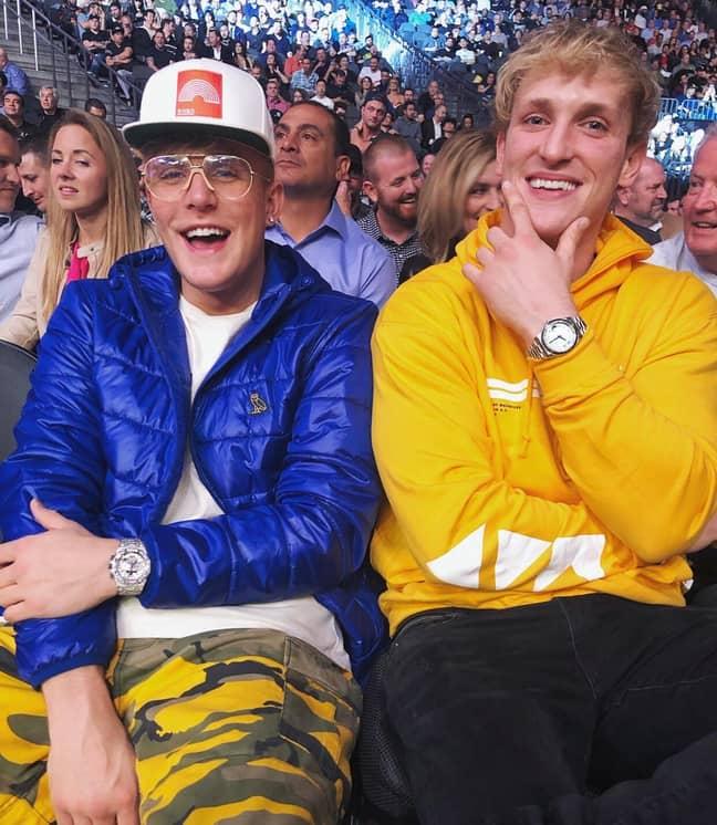 Jake and Logan Paul. Credit: Instagram/@jakepaul