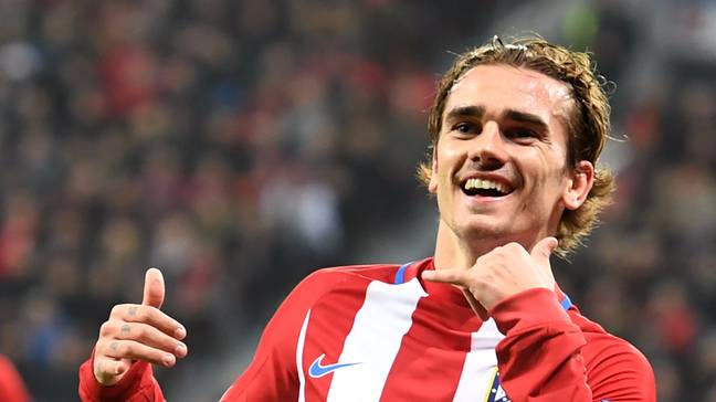 Griezmann was the top star at Sociedad and Atletico. Image: PA Images