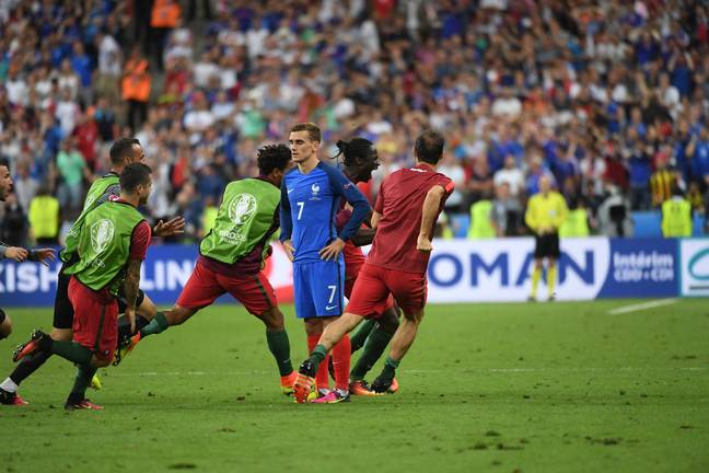 France and Portugal will meet on June 24th in a repeat of the Euro 2016 final. Image: PA Images