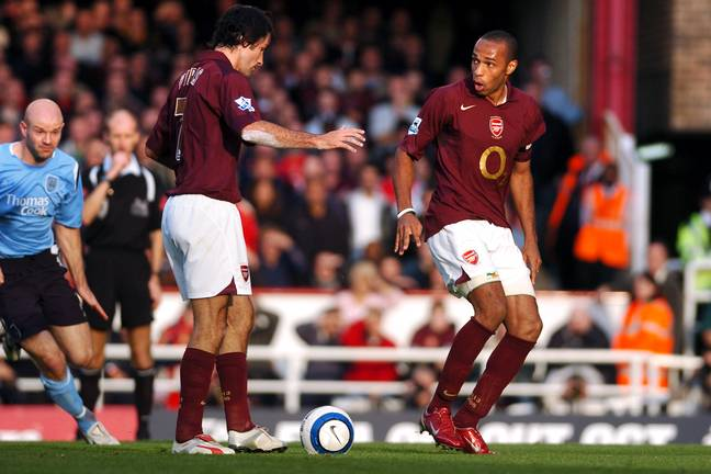 Henry clearly knows it was a mistake. Image: PA Images