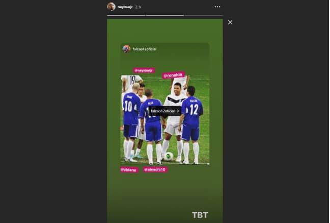 Credit: Instagram/Falcao