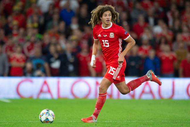 Ampadu was excellent in the game against Ireland. Image: PA Images