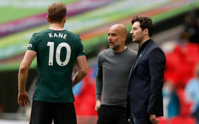 It is understood that Manchester City bid £100m for Kane earlier this week before it was turned down