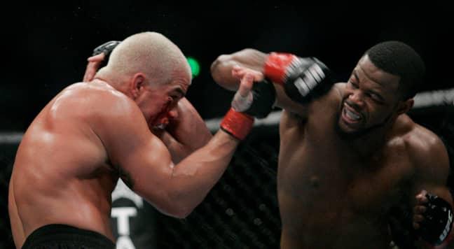 Rashad Evans took on Tito Ortiz in 2007. Credit: PA